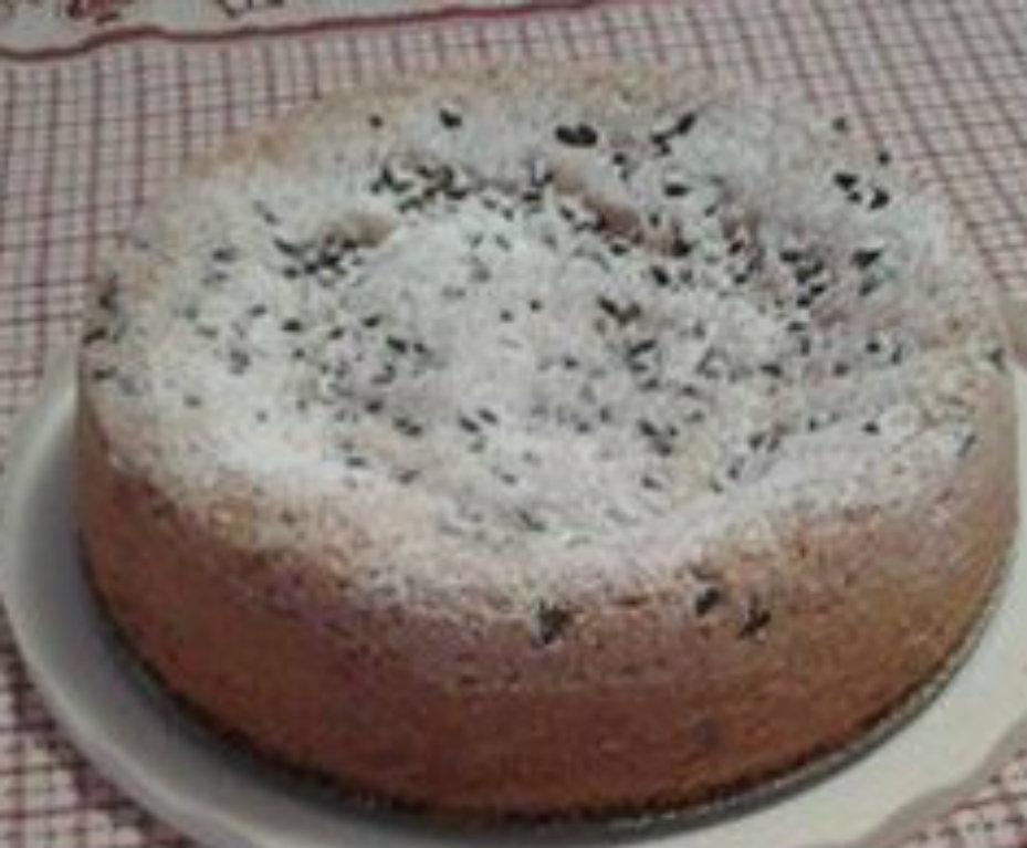 Torta con farina di mandorle e gocce di cioccolato,(GS,OA,B,AB)