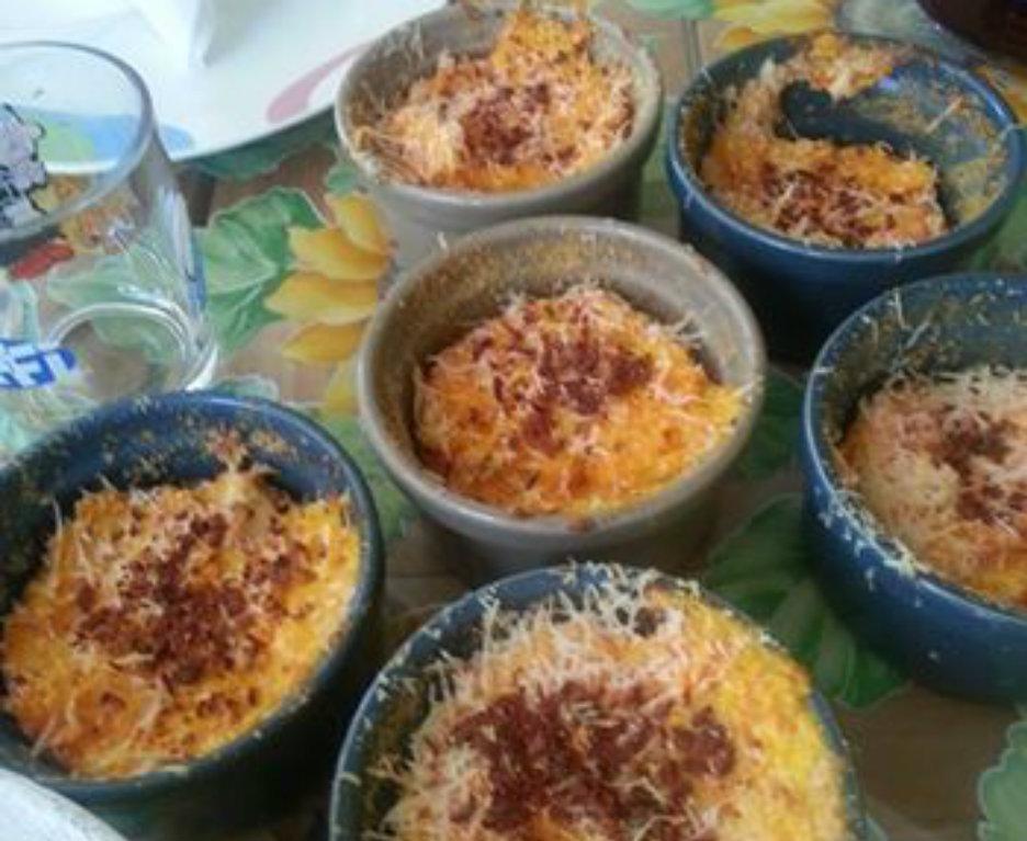 Souffle di carote ,limone  e cannella. (6 tortini) Ricetta di Gisella Carasso (GS,O,A,B,AB)
