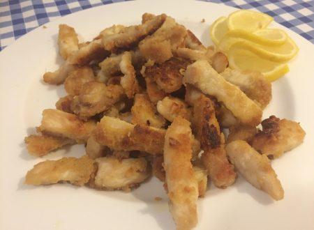 Straccetti di pollo croccante al limone