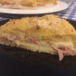 Sbriciolata di patate - prosciutto e formaggio