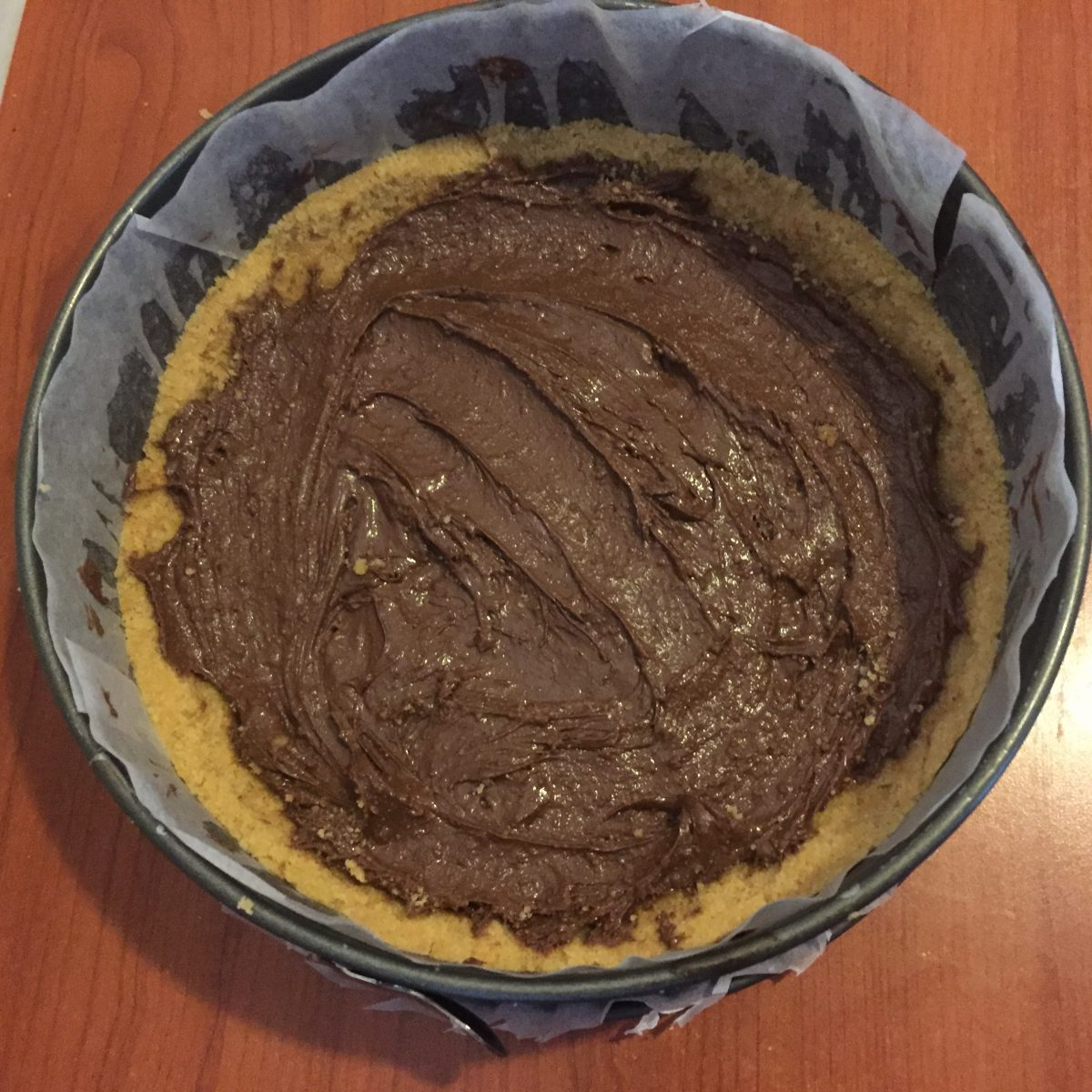sbriciolona con wafer e nutella