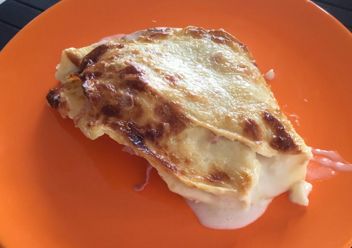 crespelle prosciutto mozzarella e besciamella