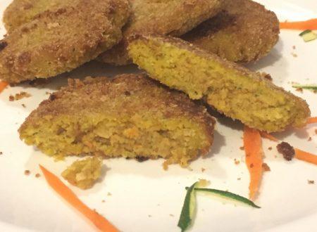 Hamburger di carote e zucchine
