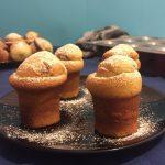 Muffin senza burro con cuore cremoso