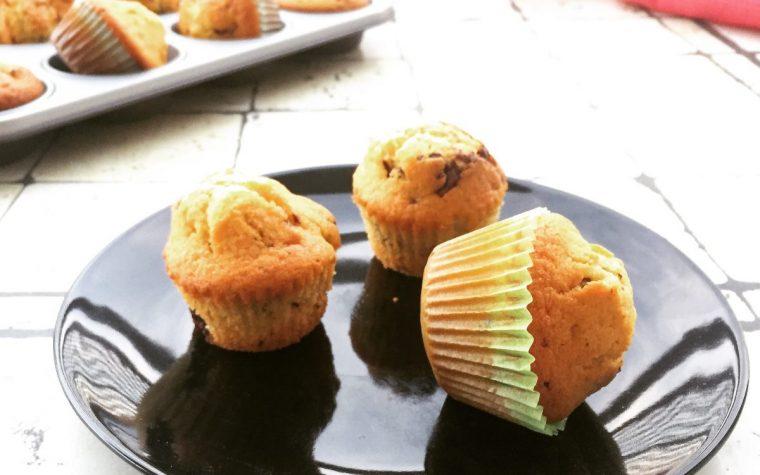 Muffin ciocco nocciolato