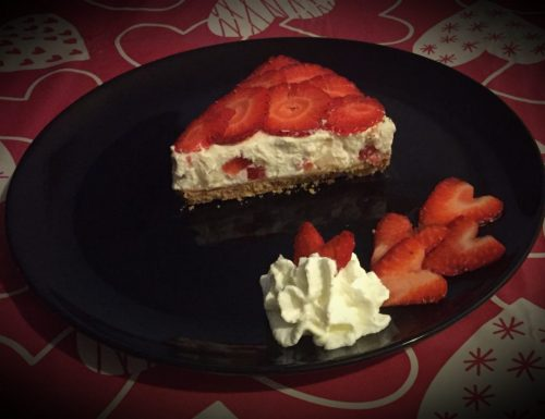 Cheesecake mascarpone e fragole