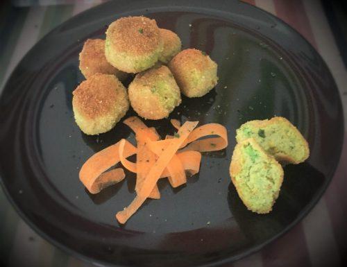 Polpette di carote, ricotta e broccoli