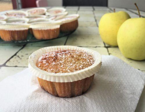 Deliziose tortine alle mele con la nutella
