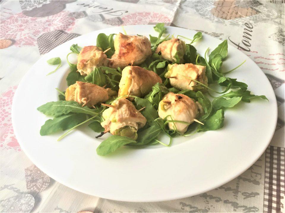 involtini pollo zucchine