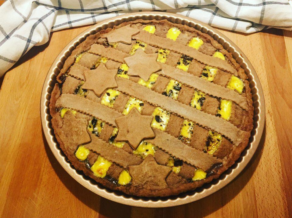 crostata cacao pasticcera cioccolato