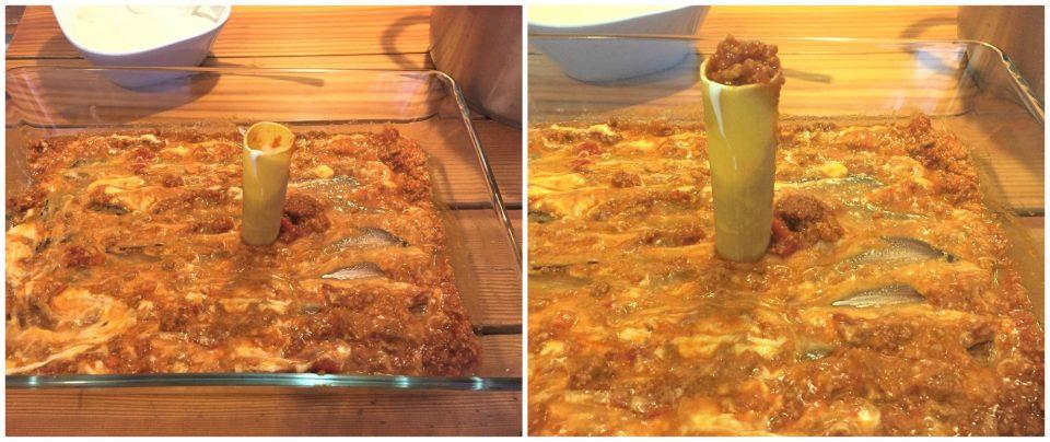 cannelloni ragu carne besciamella