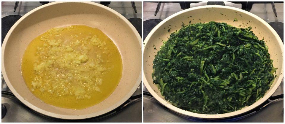 ravioli senza uova cicoria