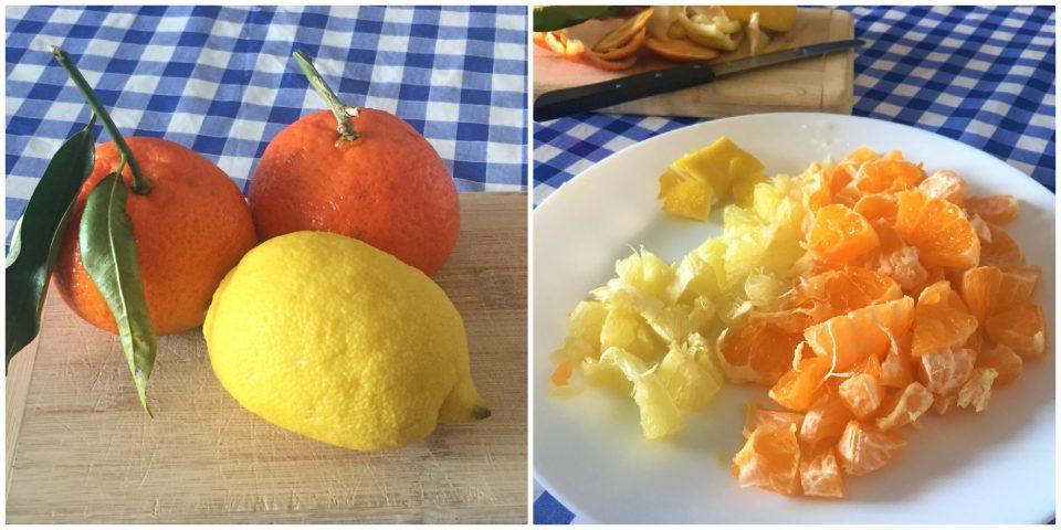 plumcake mandarino limone soffice