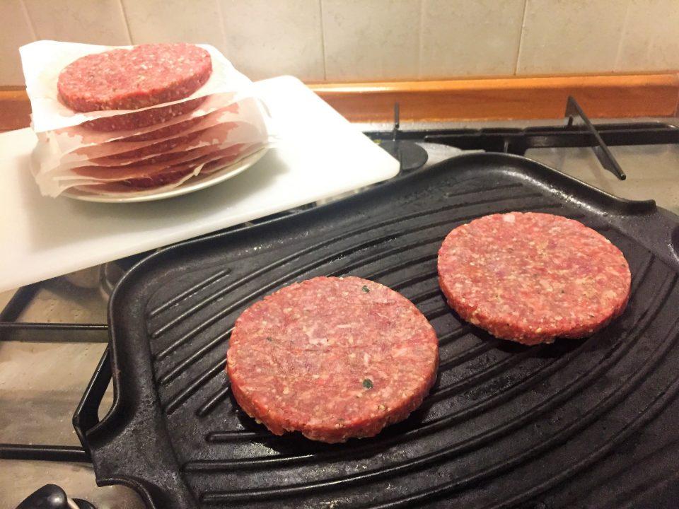 ricetta hamburger carne