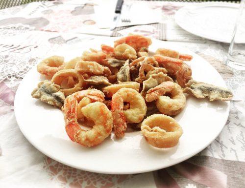 Fritto misto di pesce – la frittura perfetta.