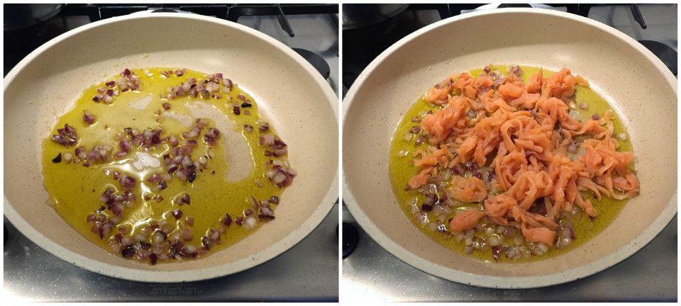 tagliatelle salmone panna classico