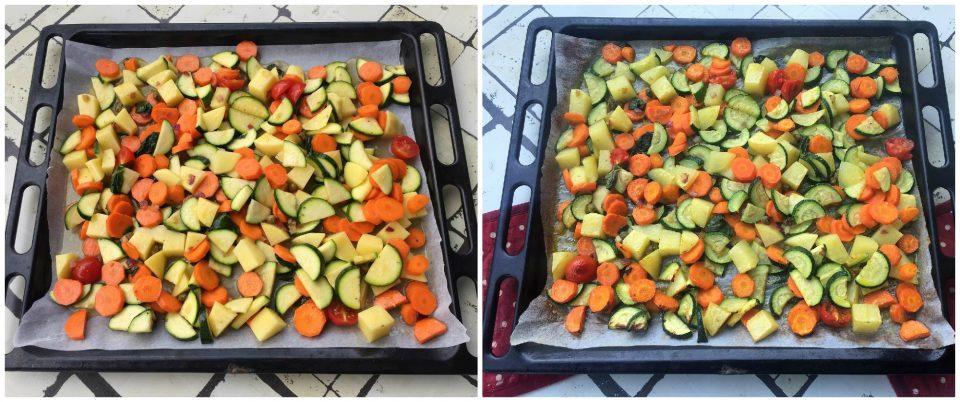 orata forno verdure facile veloce