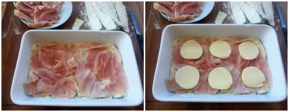 parmigiana zucchine bianca crude