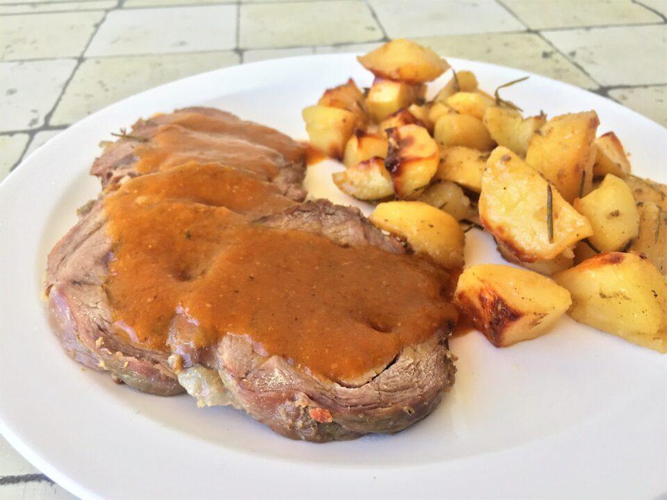 arrosto vitello patate forno