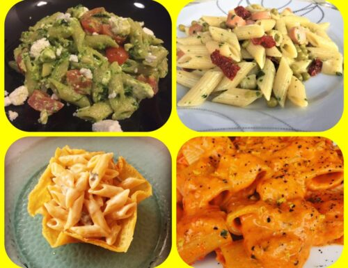 Cosa cucino oggi? Pasta corta con..semplici idee per ricette gustose!