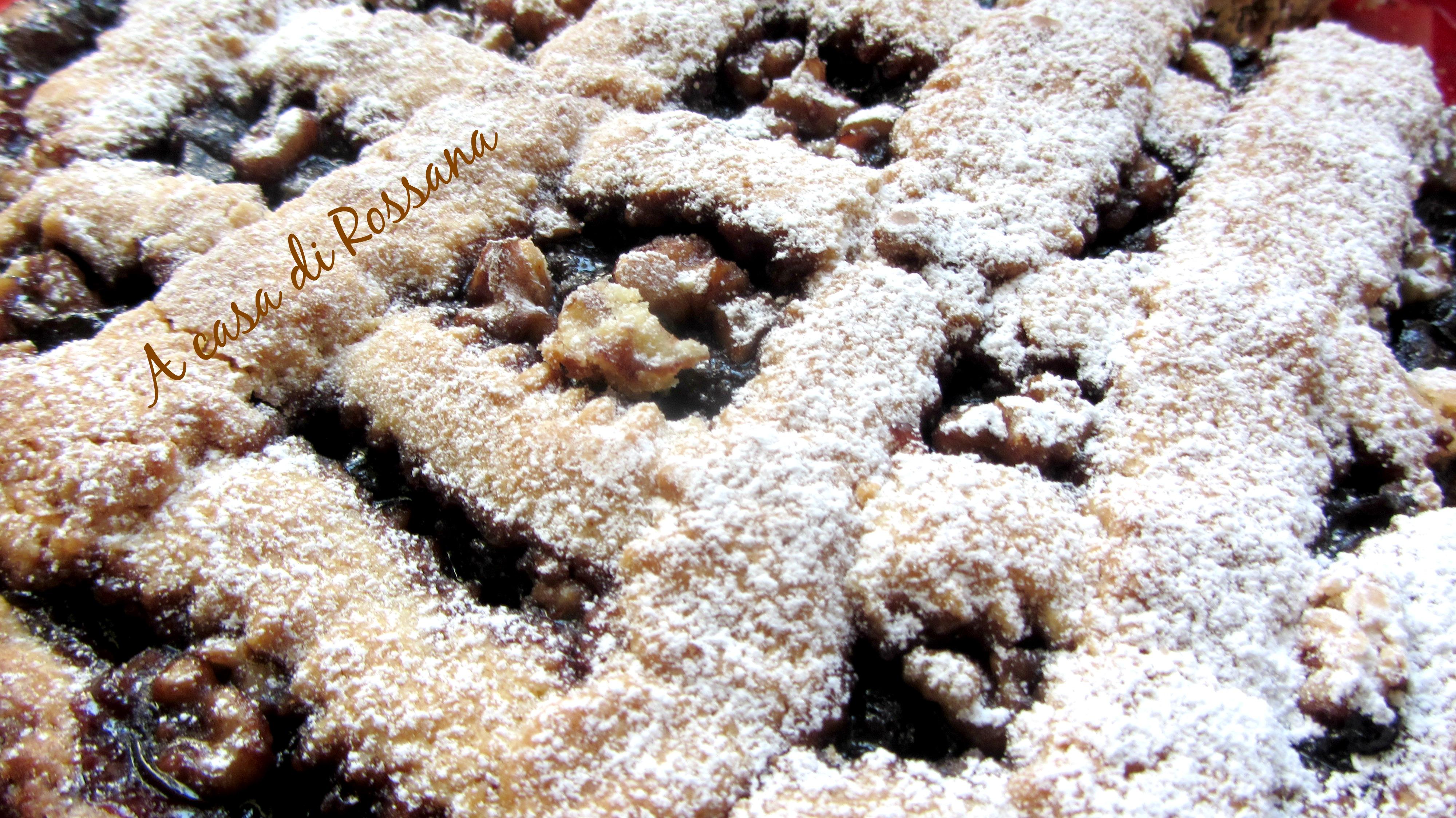 Popolare Crostata alla mostarda di uva e noci   A casa di Rossana DY72
