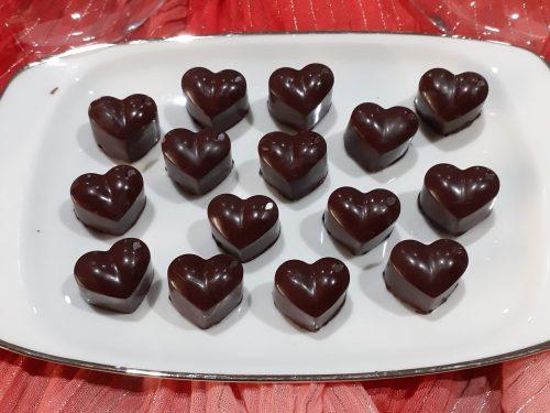 Cioccolatini di San Valentino dal cuore morbido