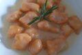Gnocchi di ricotta e zucca con crema di gorgonzola