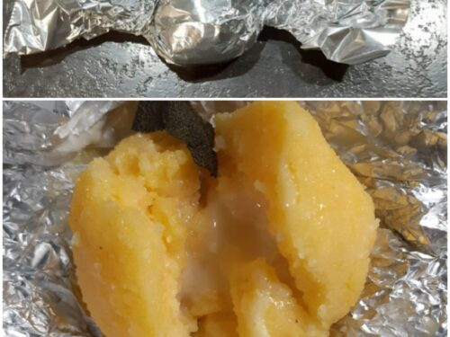 Caramelle di polenta ripiene