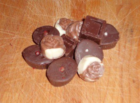 Cioccolatini fatti in casa, ricetta semplice