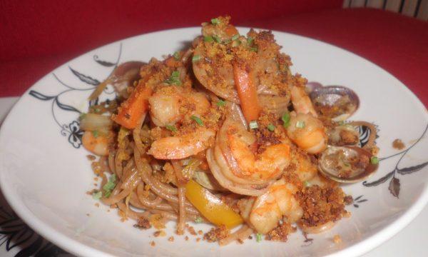 Spaghetti di Farro fusion