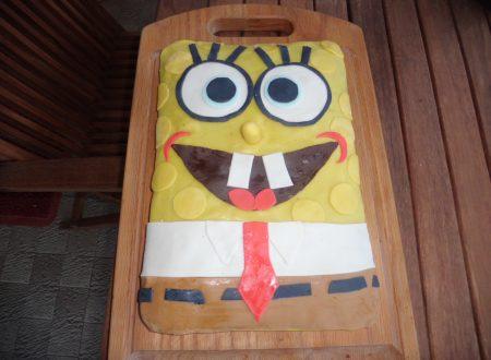 Torta Spongebob con Cioccolato Plastico e PDZ