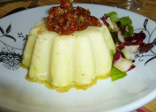 Tortino di patate al pesto filante