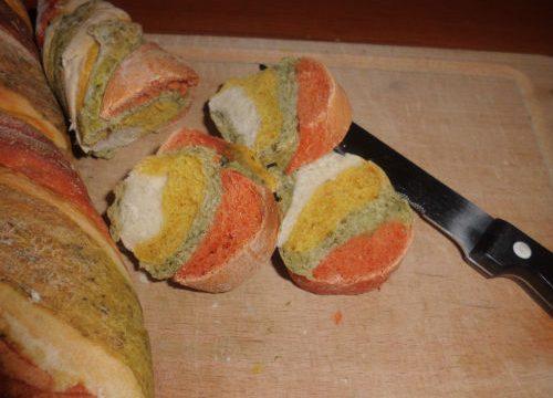 Pane arcobaleno, ricetta di Sara Papa