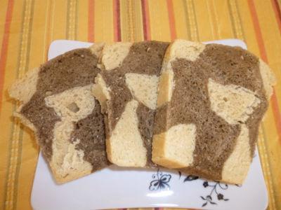 Pane marmorizzato a scacchiera 3