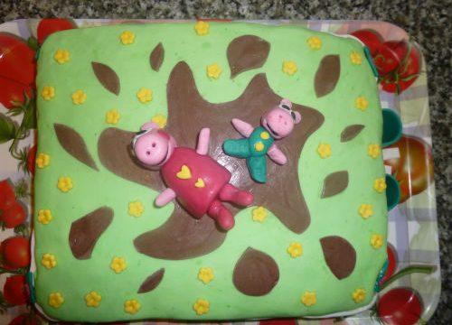 Torta peppa pig in PDZ