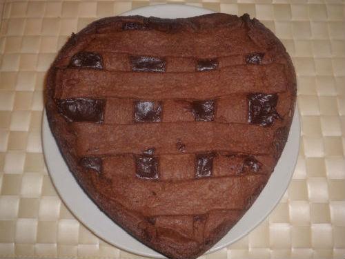 crostata, cioccolato, Barolo Chinato