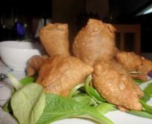Samosa indiane, street food