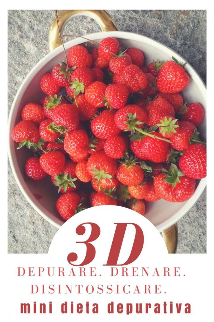 Dieta: la regola delle 3 D | Mini dieta depurativa