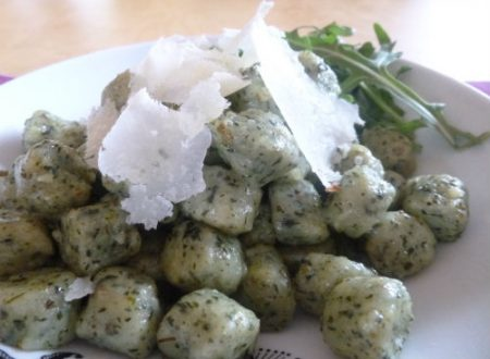 Gnocchi eco di lattuga e rucola