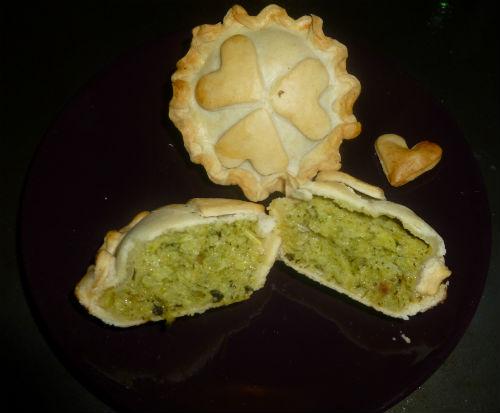 Mini Pie eco, broccoli