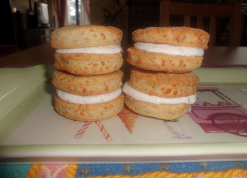 Macarons salati a modo mio