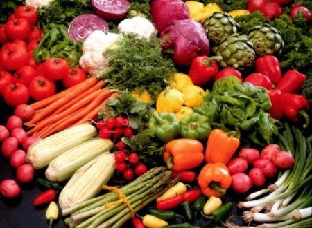 Frutta e verdura che aiutano la dieta
