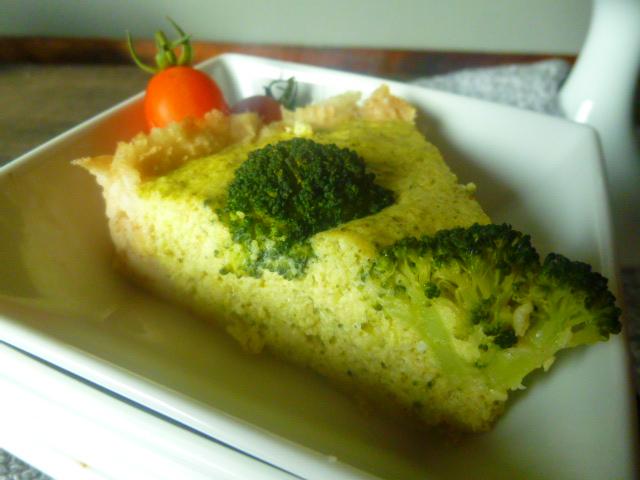 Crostata eco di pane e broccoli 017