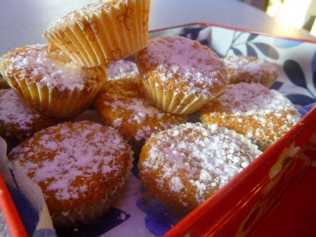 mini muffin alle carote e mandorle