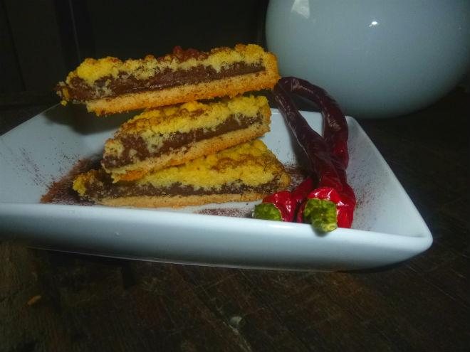 crostata alla nutella e peperoncino