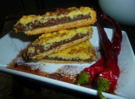 Crostata alla nutella e peperoncino, ricetta semplice