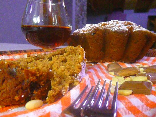 torta con castagne e cognac