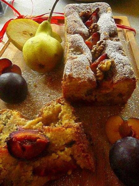 torta rustica pere e susine