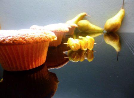 Muffin vegan con marmellata di bucce di pere e Muscovado