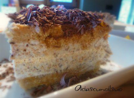 Cheesecake di Pandoro al cioccolato